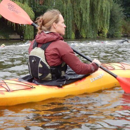 Kayaking River Severn