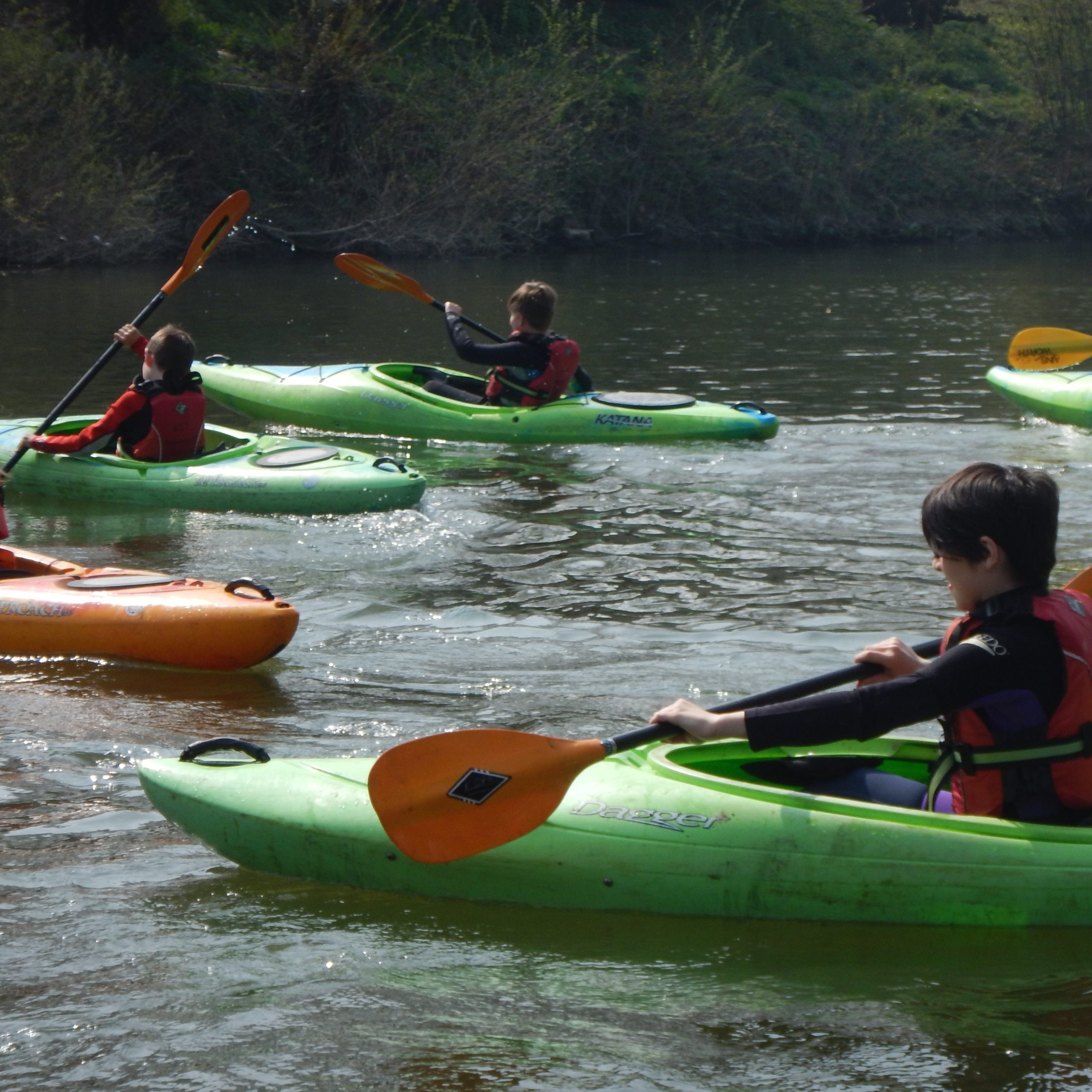 Kids kayak, canoe and SUP courses