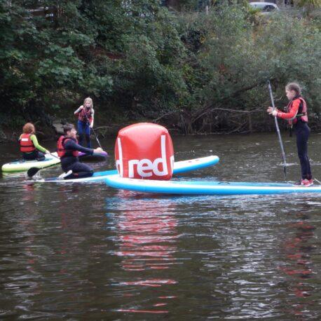 Kids Stand Up Paddleboarding River Severn Shrewsbury