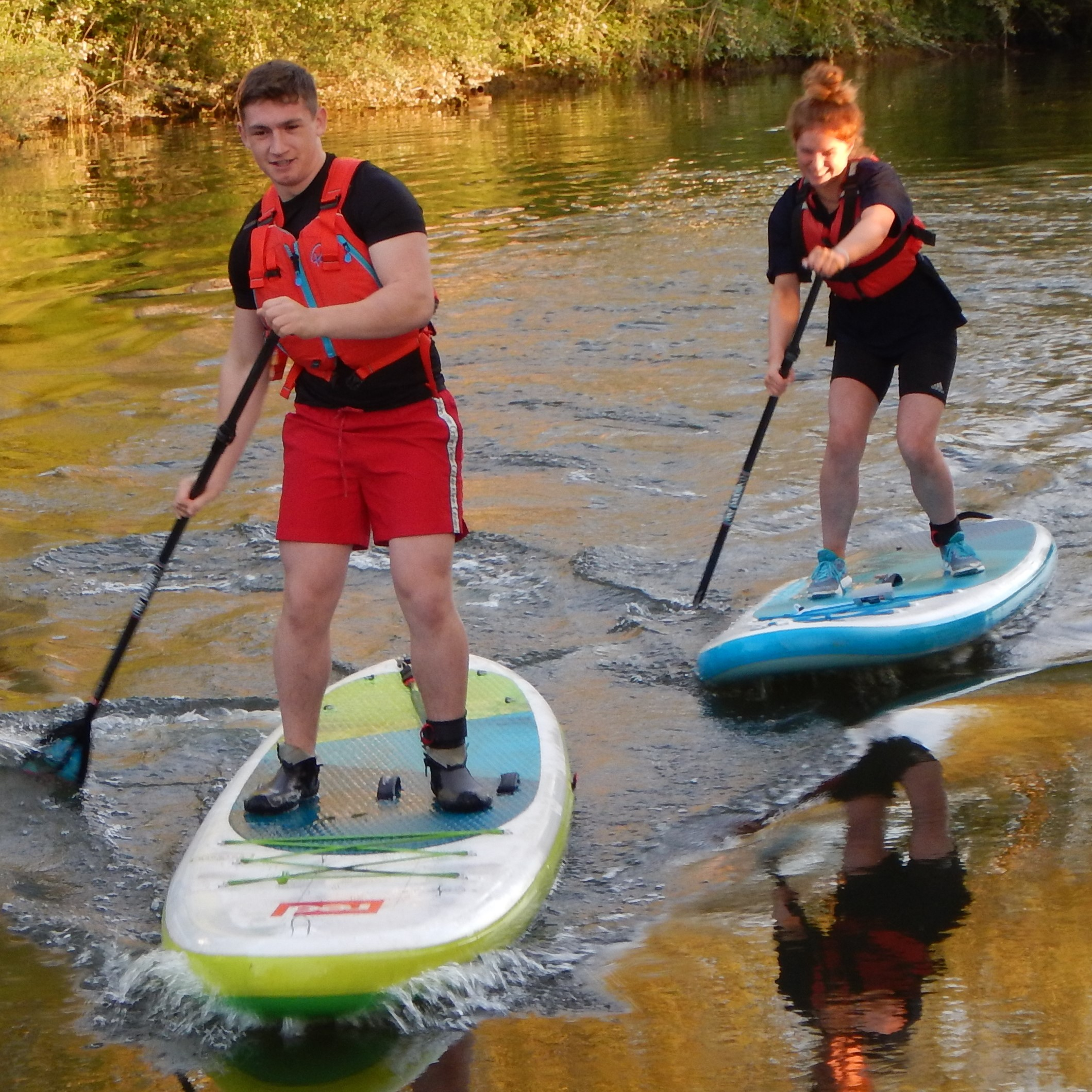 Kids kayak, canoe and SUP courses