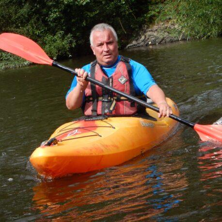 Kayaking, River Severn Shrewsbury