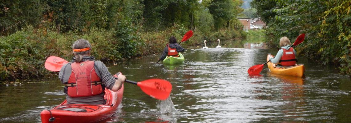Paddlesport kayaking.