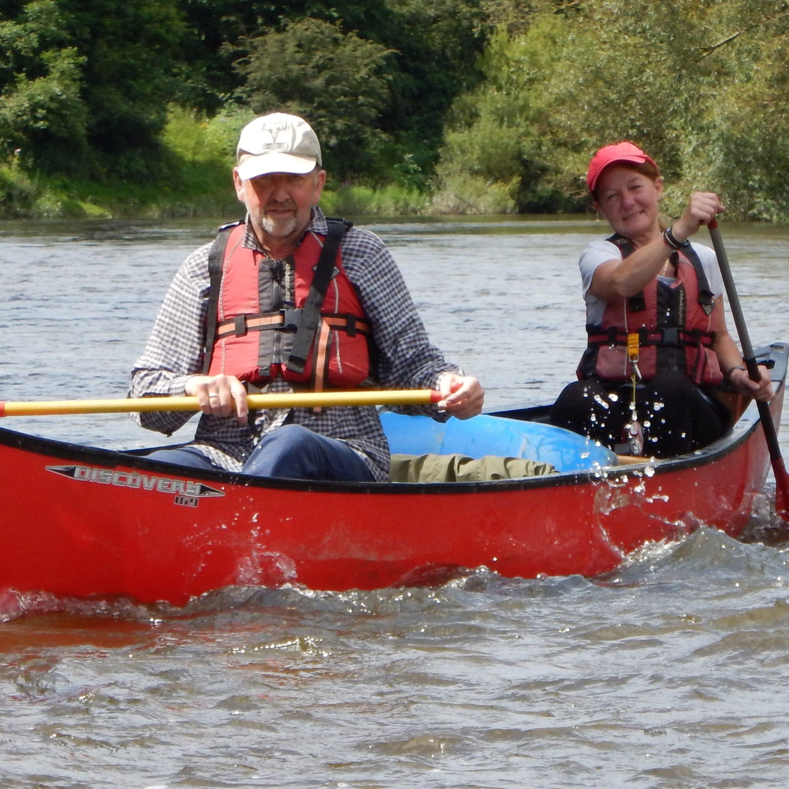 Canoe Start - UP