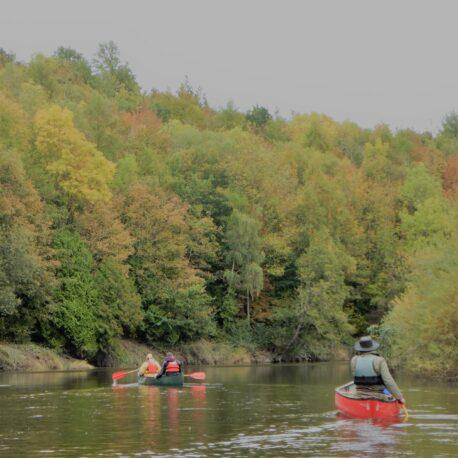 Open Canoe River Severn