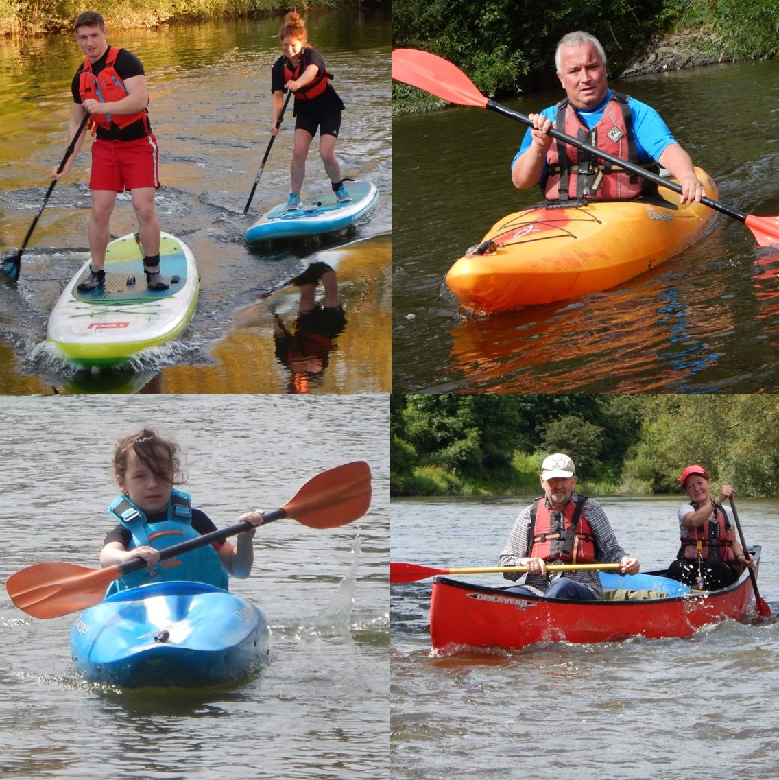 Kayak, Canoe and Stand Up Paddleboard Courses