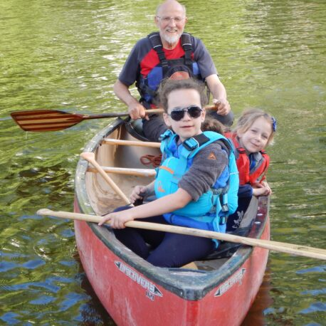 Family Paddlesport Canoeing