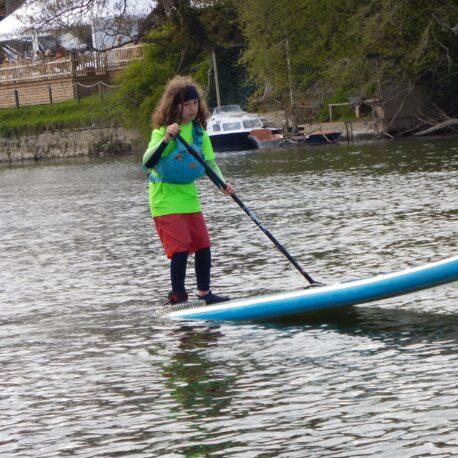Kids SUP Skill UP Kids paddleboarding