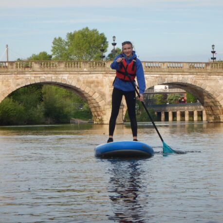 SUP Welsh Bridge River Severn