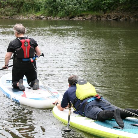 Paddleboard rescue